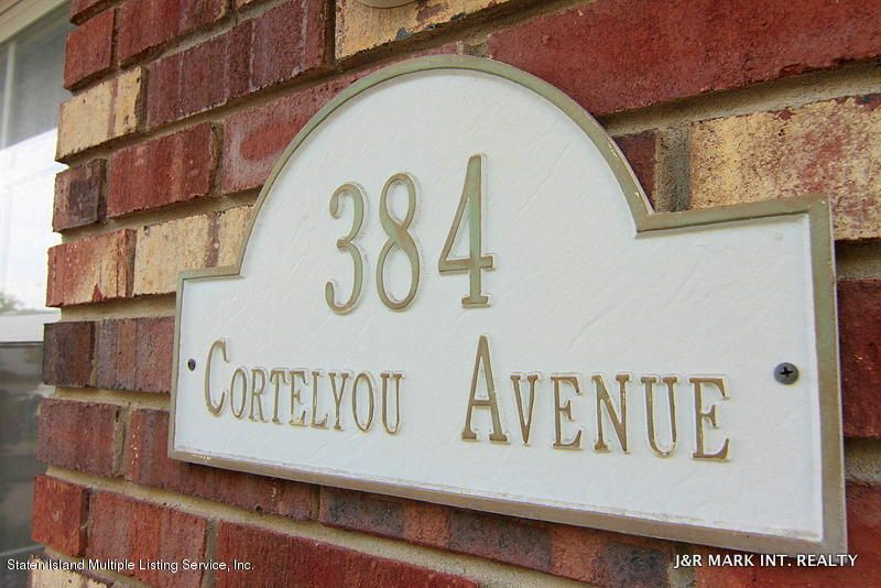 Additional photo for property listing at 384 Cortelyou Avenue  Staten Island, New York 10312 United States