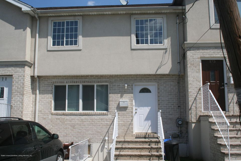 Single Family Home for Sale at 173 Burgher Avenue Staten Island, New York 10310 United States