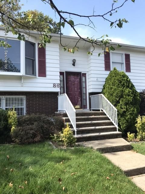 Single Family Home for Sale at 86 Sunset Ave Staten Island, New York 10314 United States