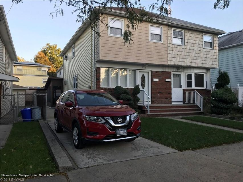 Single Family Home for Sale at 435 Wooley Avenue Staten Island, New York 10314 United States