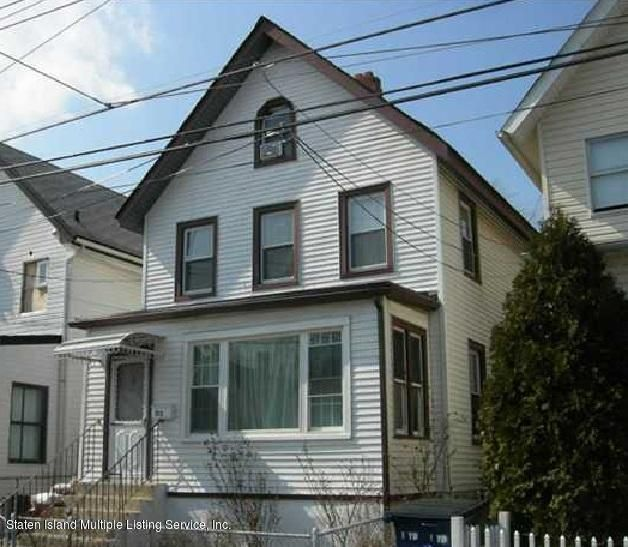 Single Family Home for Sale at 102 Maple Avenue Staten Island, New York 10302 United States