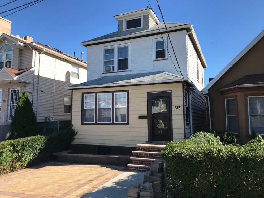 Single Family Home for Sale at 138 Lyman Avenue Staten Island, 10305 United States