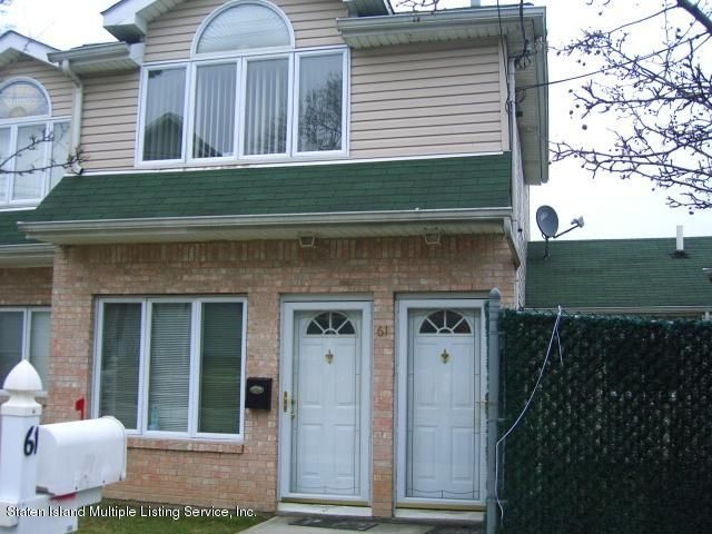 Two Family - Attached in Elm Park - 61 Renfrew Place  Staten Island, NY 10303