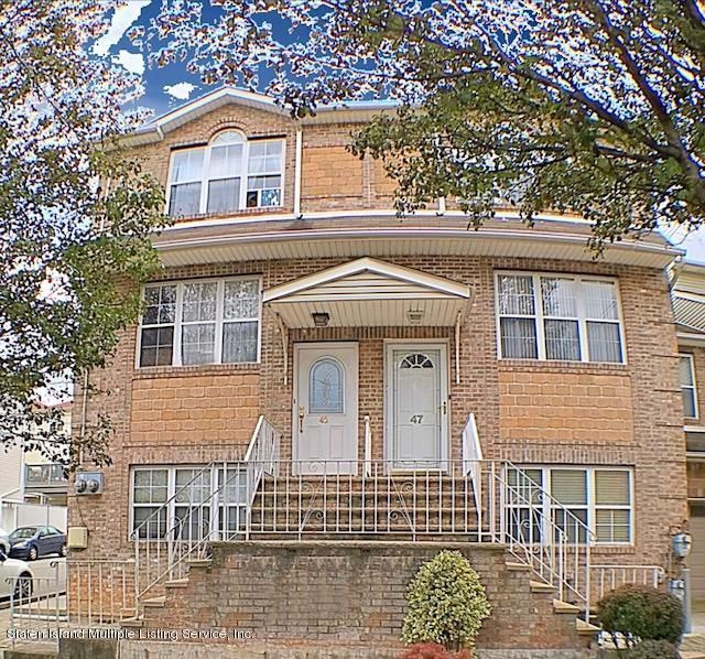Single Family Home for Sale at 45 Essex Drive Staten Island, New York 10314 United States