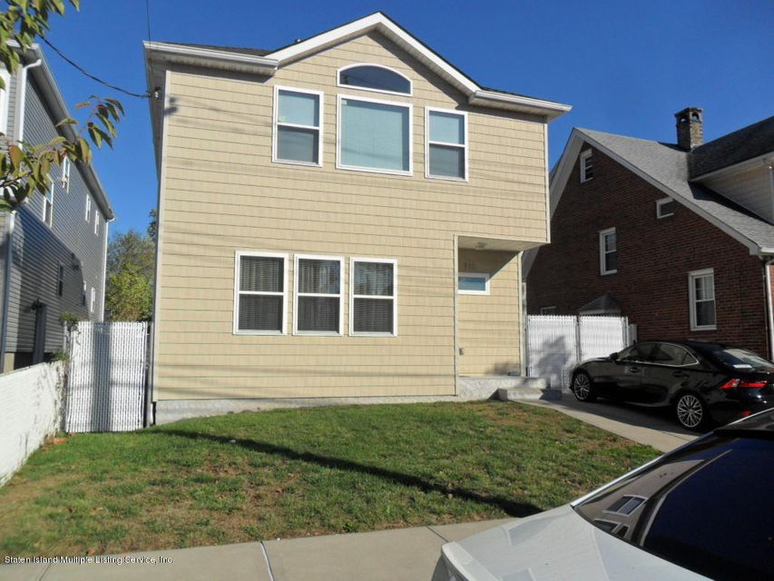 Single Family Home for Sale at 315 Yetman Avenue Staten Island, New York 10307 United States