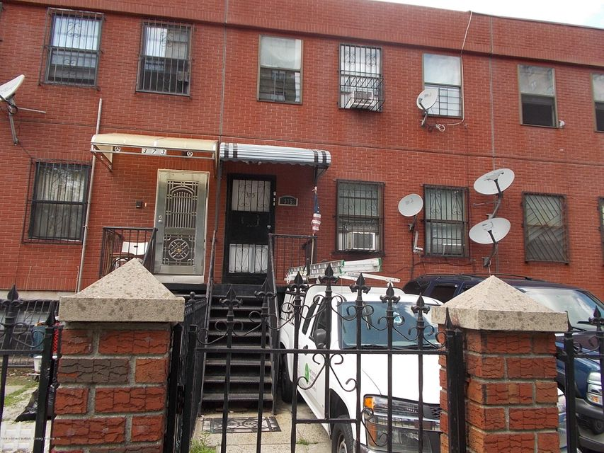 Single Family Home for Sale at 375 Hart Street Brooklyn, New York 11206 United States