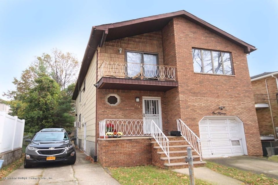 Single Family Home for Sale at 115 Whitman Avenue Staten Island, New York 10308 United States