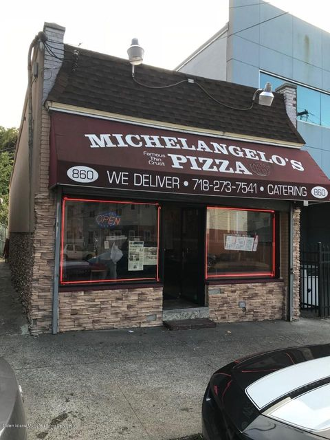 Commercial for Sale at 860 Post Avenue Staten Island, New York 10310 United States