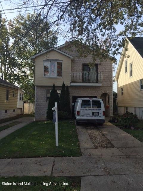 Single Family Home for Sale at 168 Armstrong Avenue Staten Island, New York 10308 United States