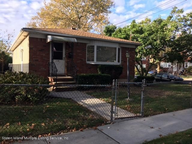 Single Family Home for Sale at 118 Mobile Avenue Staten Island, New York 10306 United States
