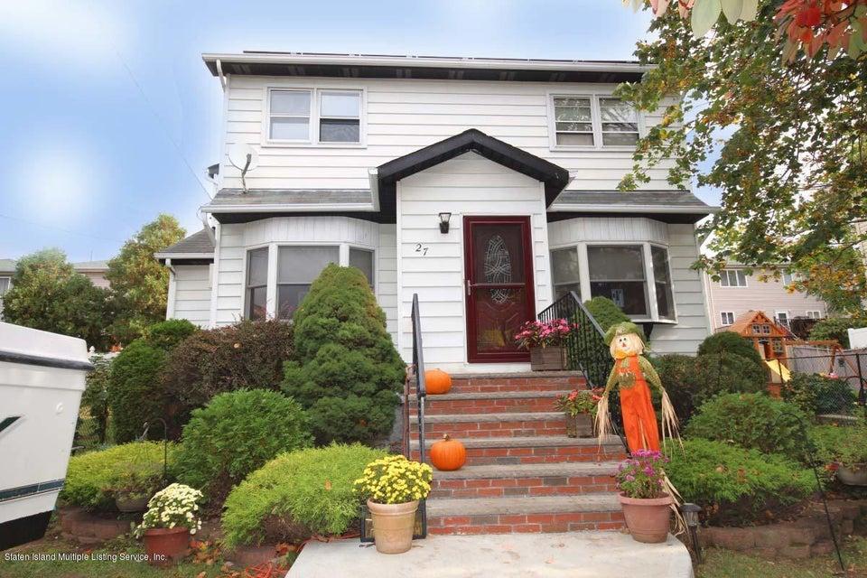 Single Family - Detached 27 Raymond Place   Staten Island, NY 10310, MLS-1111746-22