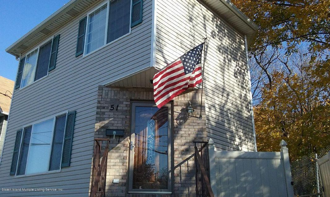Single Family Home for Sale at 51 Nicholas Avenue Staten Island, New York 10302 United States