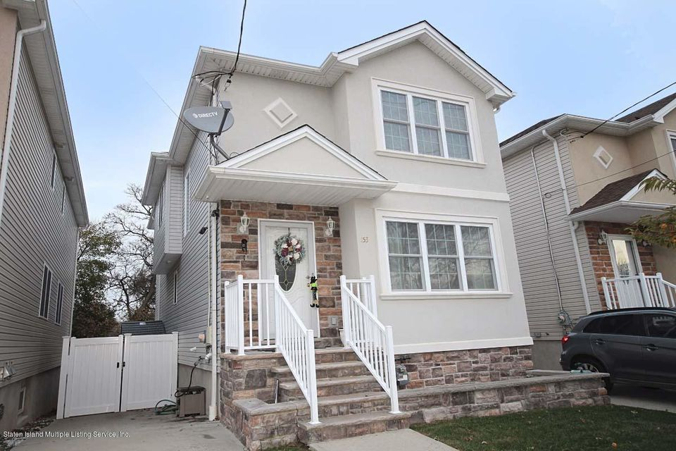 Single Family Home for Sale at 153 Roswell Avenue Staten Island, New York 10314 United States