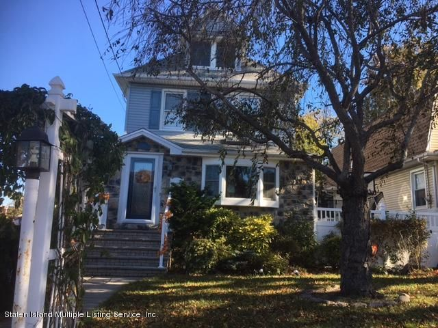 Single Family Home for Sale at 397 Davis Avenue Staten Island, New York 10310 United States