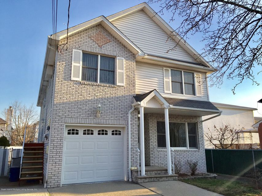 Single Family Home for Sale at 42 Thollen Street Staten Island, New York 10306 United States