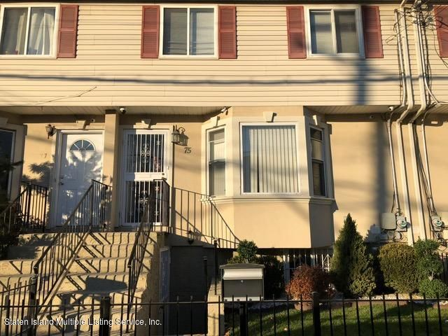 Single Family Home for Sale at 75 Arlington Place Staten Island, New York 10303 United States