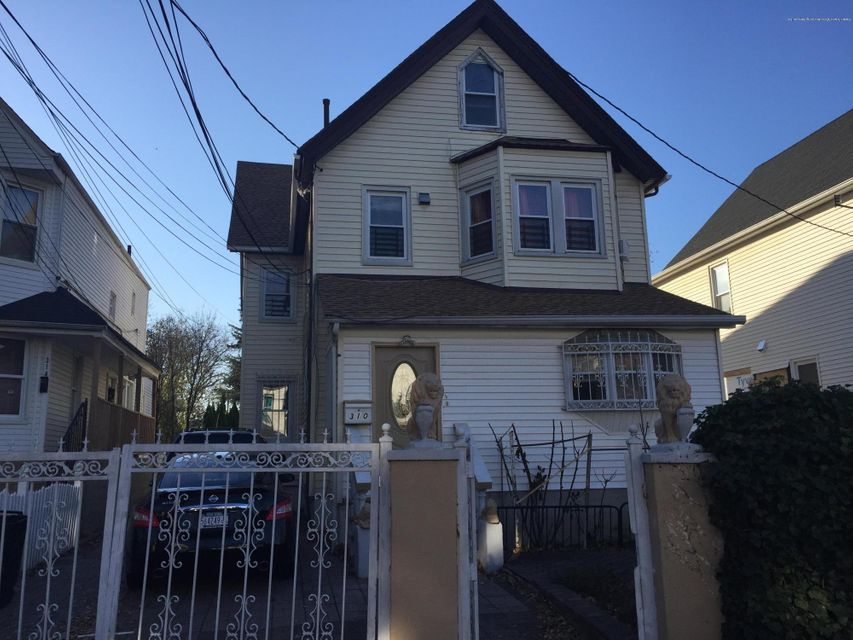 Single Family Home for Sale at 310 Taylor Street Staten Island, New York 10310 United States