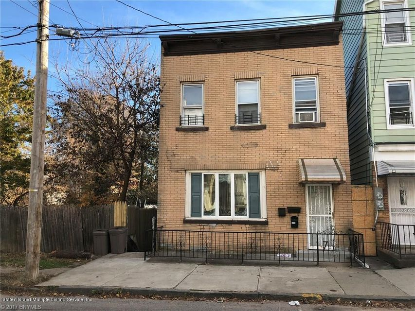 Single Family Home for Sale at 196 St Marys Avenue Staten Island, New York 10305 United States