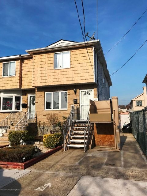 Single Family Home for Sale at 67 Scott Avenue Staten Island, New York 10305 United States