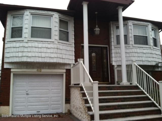 Single Family Home for Rent at 48 Copley Street Staten Island, New York 10314 United States