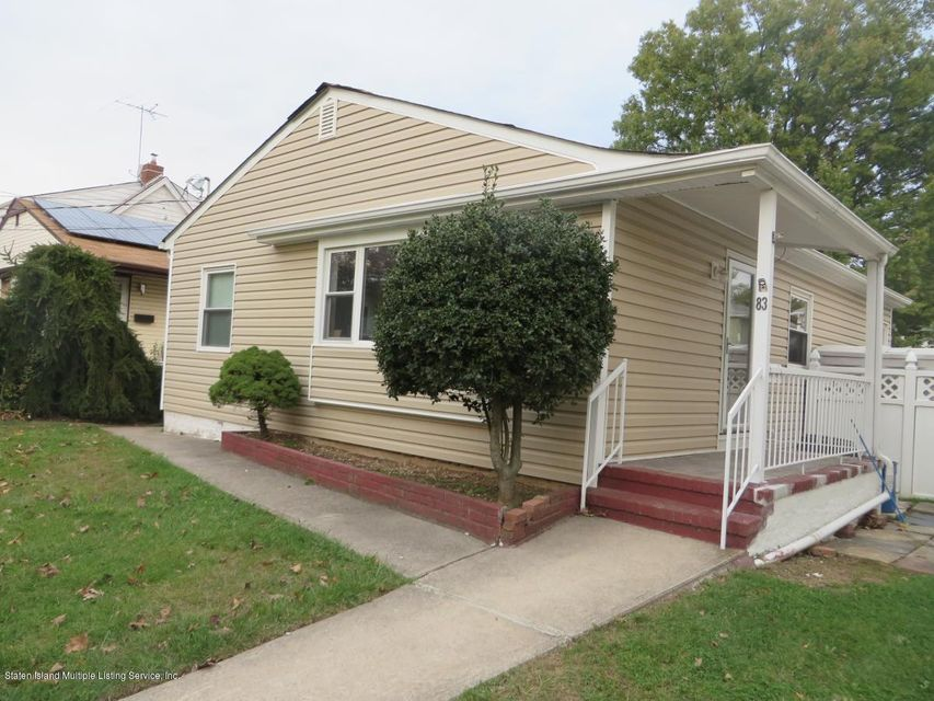 Single Family Home for Rent at 83 Cannon Boulevard Staten Island, 10306 United States