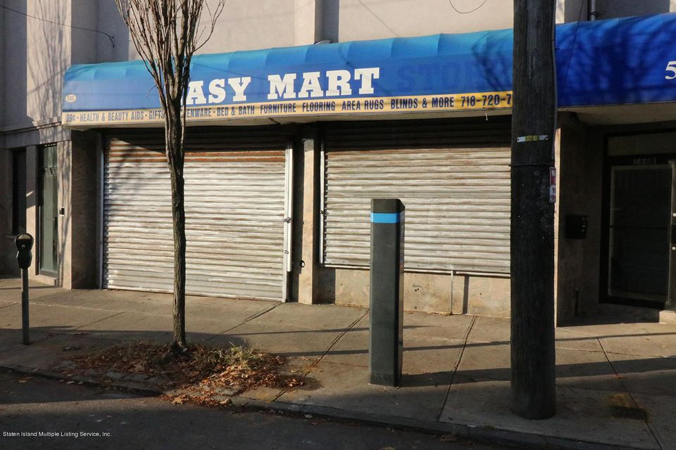 Commercial for Rent at 586 Bay Street Staten Island, New York 10304 United States