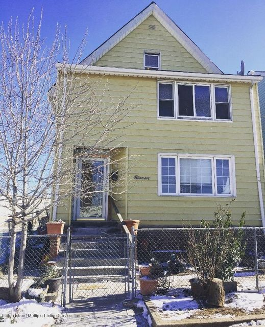 Single Family Home for Sale at 11 John Street Staten Island, New York 10302 United States