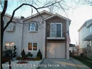 Two Family - Semi-Attached in Annadale - 193 Shotwell Avenue  Staten Island, NY 10312