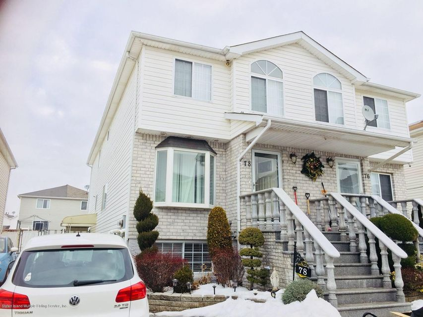 Single Family Home for Rent at 78 Stephen Loop Staten Island, New York 10314 United States
