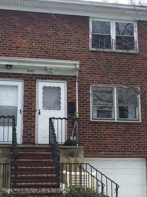 Single Family Home for Rent at 449 Ingram Avenue Staten Island, New York 10314 United States