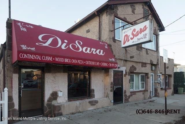 Commercial for Rent at 121 Roma Ave Staten Island, New York 10306 United States