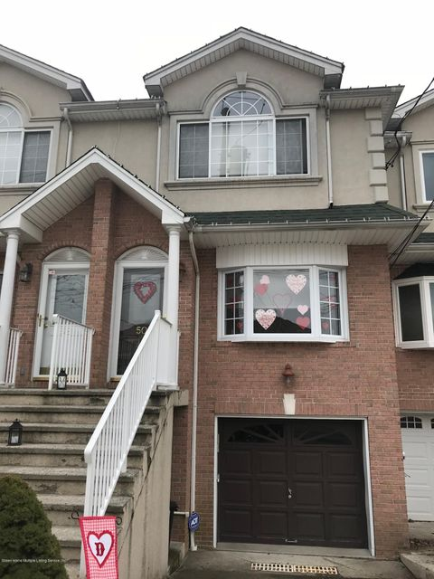 Single Family Home for Sale at 50 Endview Street Staten Island, New York 10312 United States