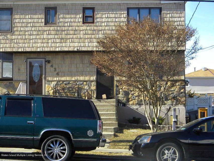 Single Family - Semi-Attached 436 Ridgewood Avenue  Staten Island, NY 10312, MLS-1116424-21