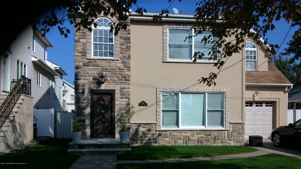 Single Family - Detached 667 Yetman Avenue  Staten Island, NY 10307, MLS-1116651-2
