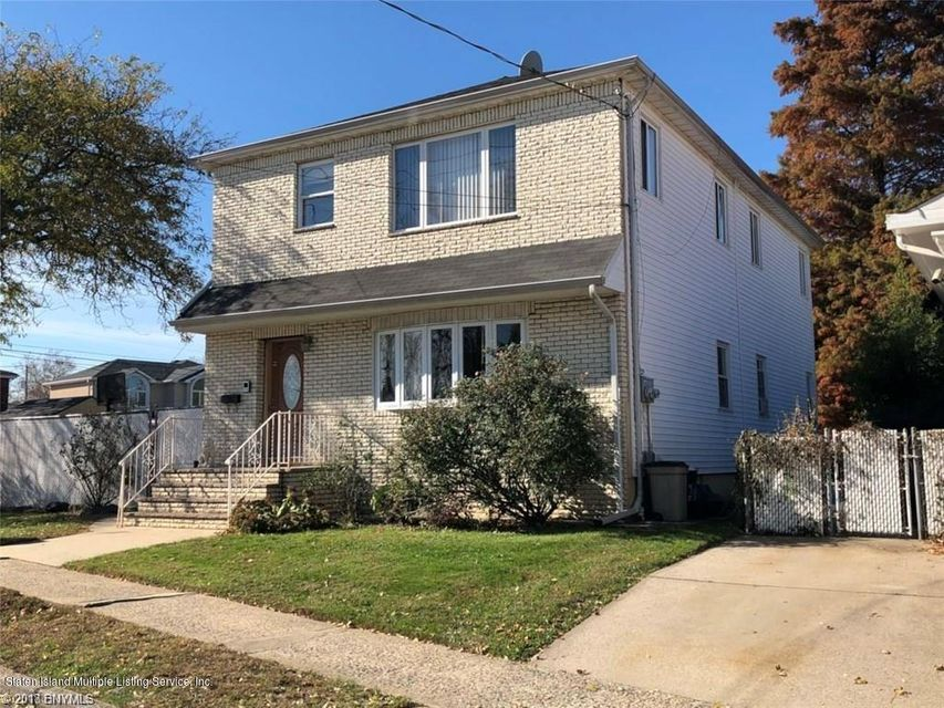 Single Family Home for Sale at 27 Husson Street Staten Island, New York 10305 United States