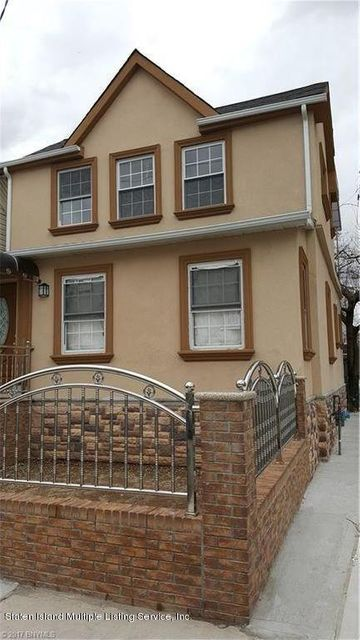 Single Family Home for Sale at 81 Rhine Avenue Staten Island, New York 10304 United States