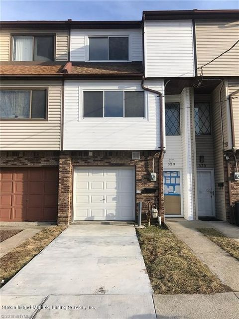 Single Family Home for Sale at 323 Oder Avenue Staten Island, New York 10304 United States