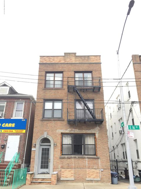 Single Family Home for Rent at 2768 16 Street Brooklyn, New York 11235 United States