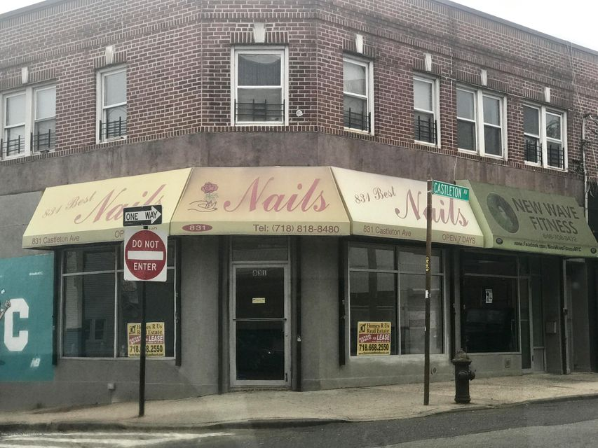 Commercial for Rent at 831 Castleton Avenue Staten Island, New York 10310 United States