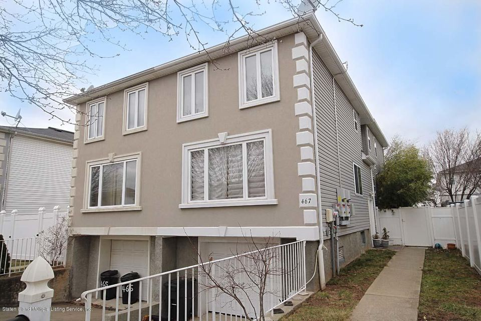 Single Family Home for Sale at 467 Dongan Hills Avenue Staten Island, New York 10305 United States