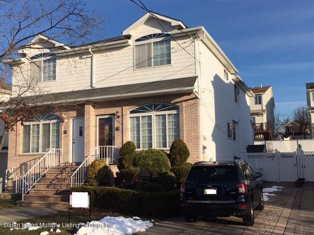 Single Family - Semi-Attached in Princes Bay - 1041 Rensselaer Avenue  Staten Island, NY 10309