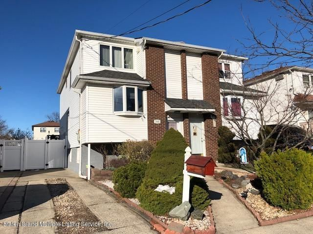 Single Family - Semi-Attached in Dongan Hills- Below Hylan - 253 Slater Boulevard  Staten Island, NY 10305