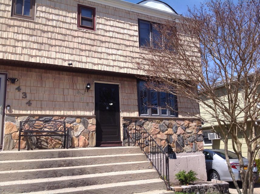Single Family - Semi-Attached in Eltingville - 436 Ridgewood Avenue  Staten Island, NY 10312