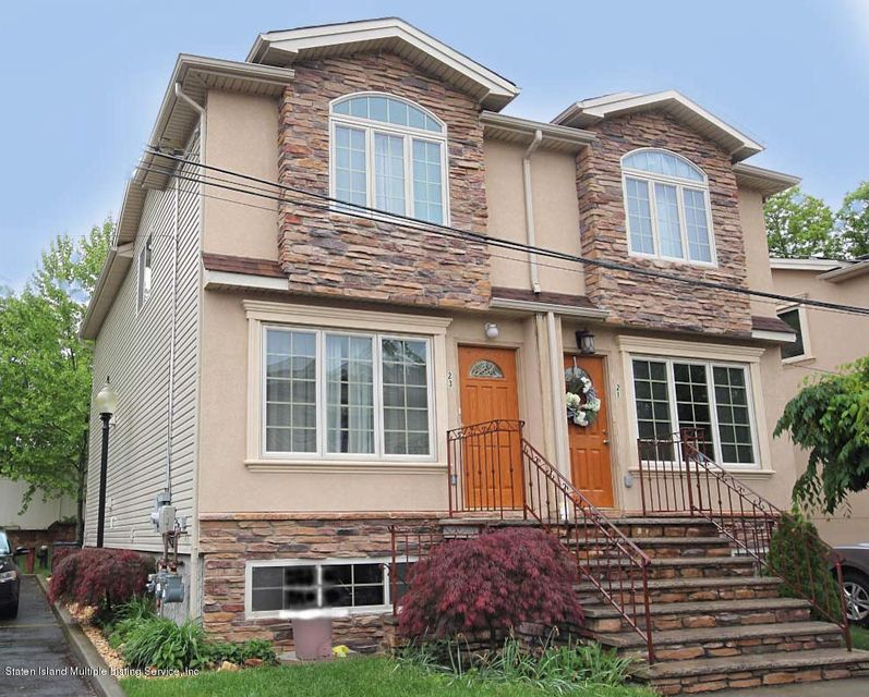 Single Family - Semi-Attached in Rossville - 23 Peachtree Lane  Staten Island, NY 10309
