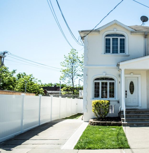Single Family - Semi-Attached in Pleasant Plains - 12 Station Avenue  Staten Island, NY 10309