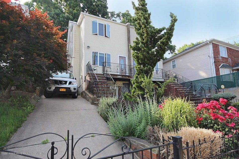 Single Family - Semi-Attached 105 Cranford Avenue  Staten Island, NY 10306, MLS-1120450-19