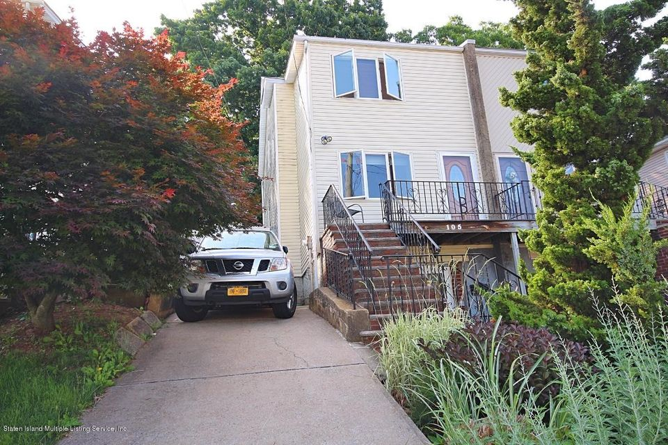 Single Family - Semi-Attached 105 Cranford Avenue  Staten Island, NY 10306, MLS-1120450-18