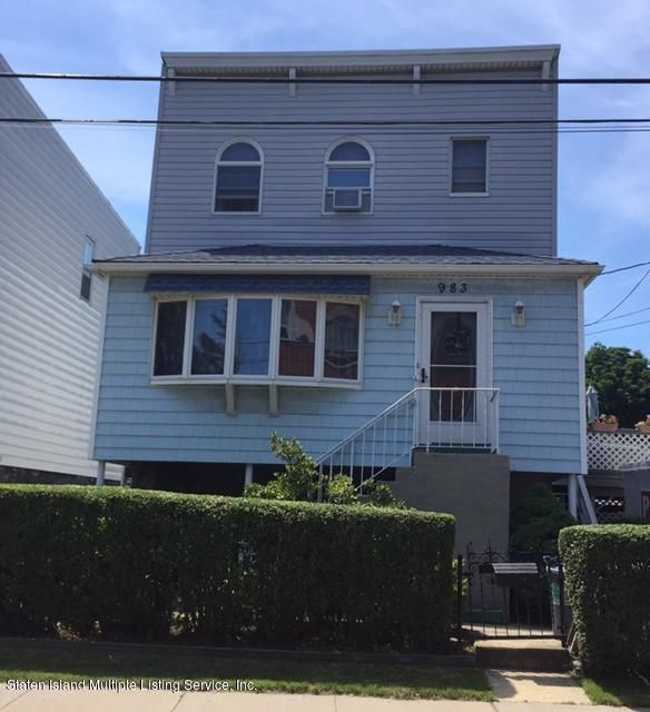 Single Family - Detached in Grasmere - 983 Richmond Road  Staten Island, NY 10304