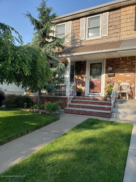 Single Family - Semi-Attached in Great Kills - 947 Armstrong Avenue  Staten Island, NY 10308
