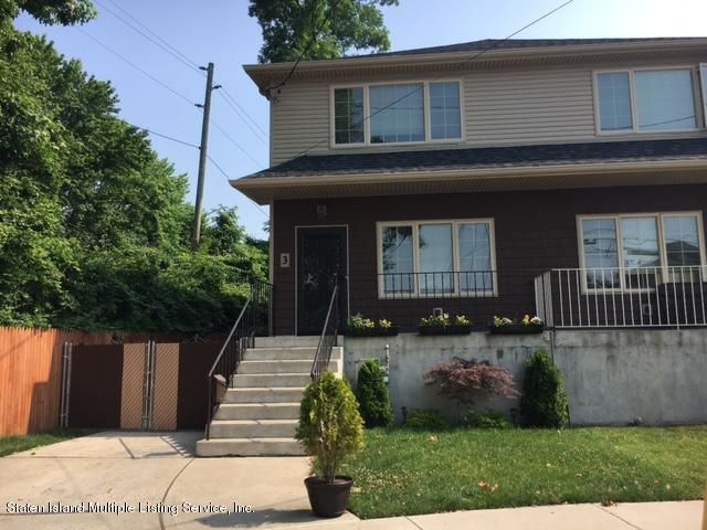 Single Family - Semi-Attached in Dongan Hills-Above Hylan - 3 Dumont Avenue  Staten Island, NY 10305